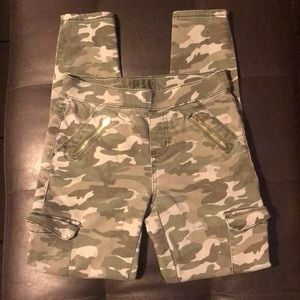 Justice Camouflage pants 14